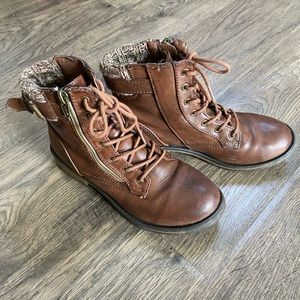 Target Brown ankle boot